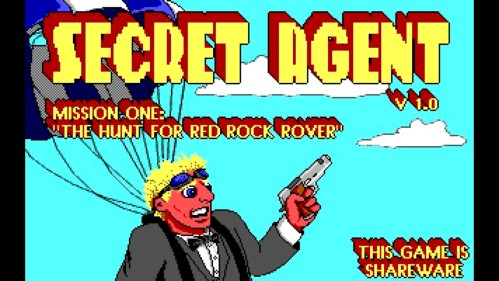 Secret Agent Splash