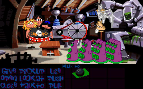 Maniac Mansion - Day of The Tentacle 130