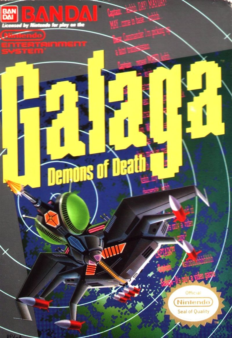 [Review] Galaga (NES)
